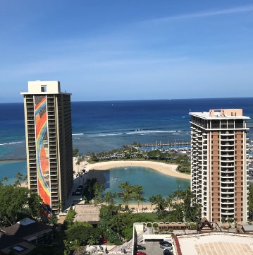 Hilton Hawaiian Village Room View