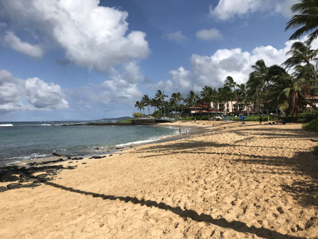 Poipu Beach (Marriott's Waiohai Beach Club)
