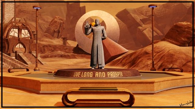 Spock Live Long & Prosper