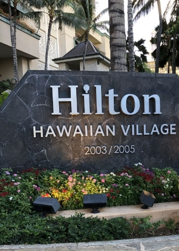 Hilton Hawaiian Village on Waikiki Beach