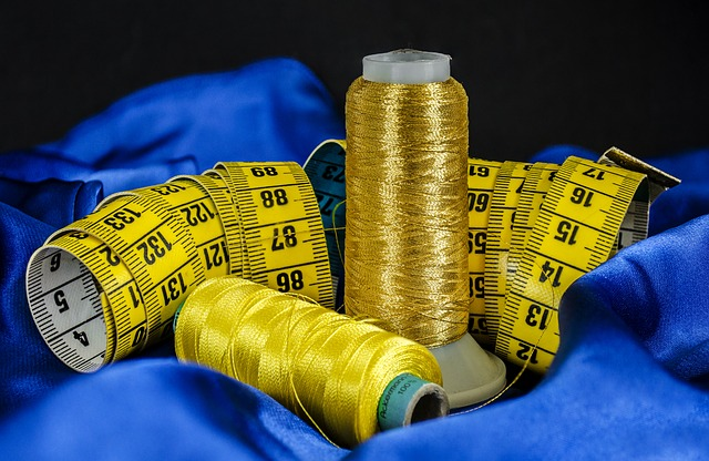 Thread and measuring tape