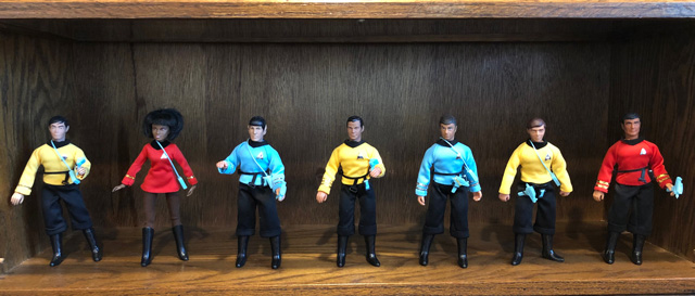 TOS Mego Action Figures