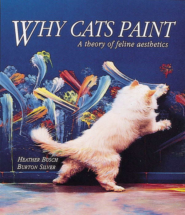 Why Cats Paint book cover.