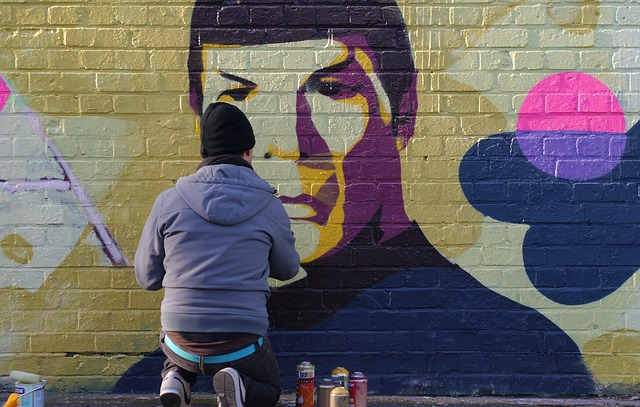 Spock Graffiti