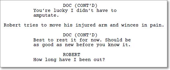 Screenplay in PDF format.