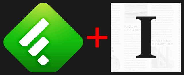 Logos for Feedly and Instapaper