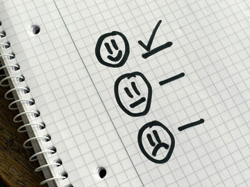 Happy Face Checklist