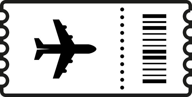 Flight boarding pass