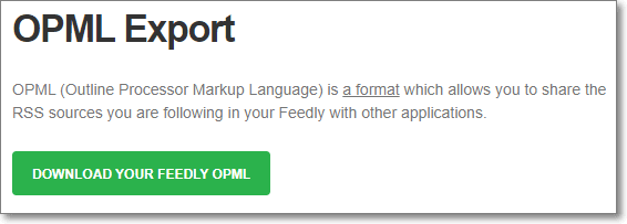Feedly download